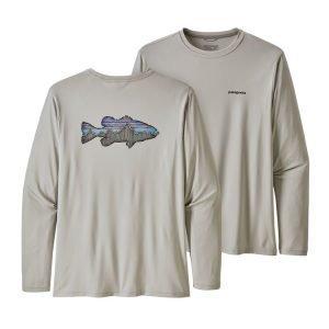 Patagonia Men's Capilene Cool Fish Graphic Shirt